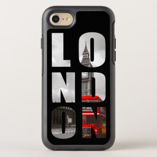 Unique Typography London City Photo Picture OtterBox Symmetry iPhone 8/7 Case