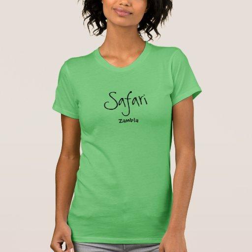Unique Zambia Safari shirt - Limited Edition