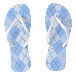 Unisex-Spring-Blue-Argyle-II_(C)Multi-Styles Jandals