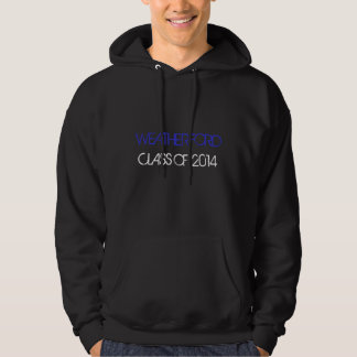 Unisex Weatherford Class of 2014 hoodie