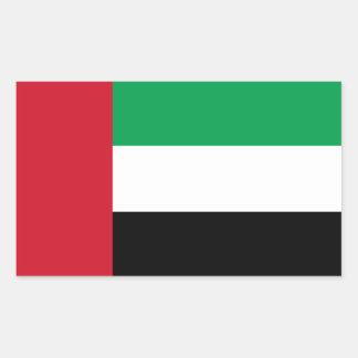 United Arab Emirates/Emirian Flag Rectangular Sticker