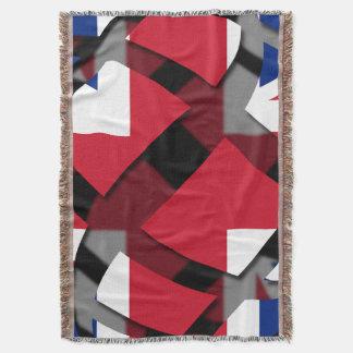 United Kingdom #1 Throw Blanket