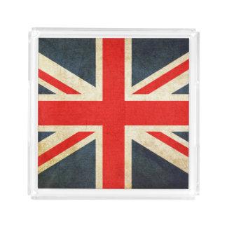 United Kingdom Acrylic Tray