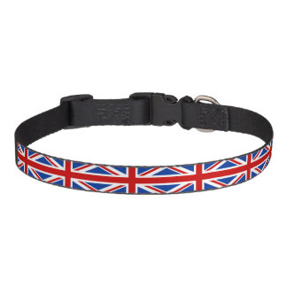 United Kingdom flag Pet Collar