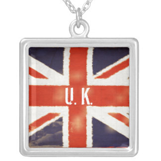 United Kingdom Silver Necklace