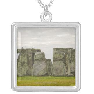 United Kingdom, Stonehenge 10 Silver Plated Necklace