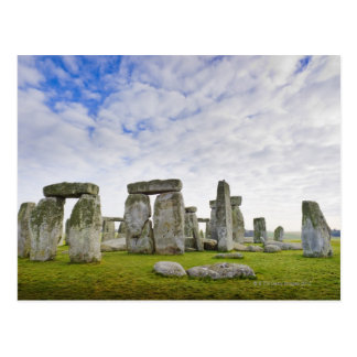 United Kingdom, Stonehenge Postcard