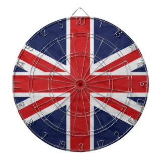 United Kingdom Union Jack Flag Dart Board