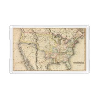 United States 29 Acrylic Tray