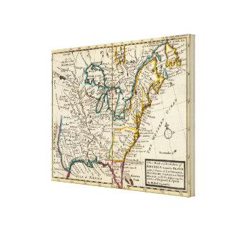 United States, Canada, North America Gallery Wrap Canvas