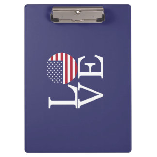 United States Flag Clipboard