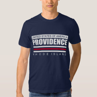 UNITED STATES OF AMERICA PROVIDENCE RHODE ISLAND T SHIRT