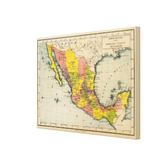 United States of Mexico Canvas Print