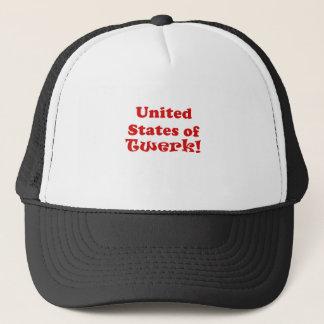 United States of Twerk Trucker Hat