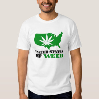 United States of Weed T-shirts