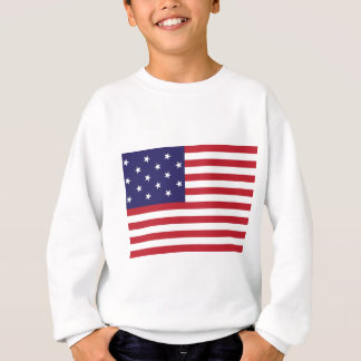 United States Star Spangled Banner Flag Sweatshirt
