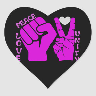 Unity,Love & Peace,Togetherness_ Sticker