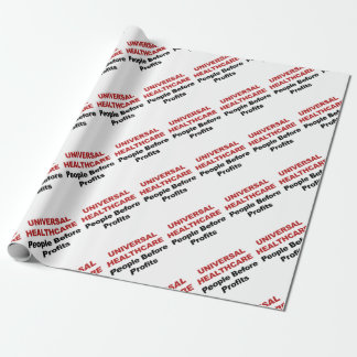 Universal HealthCare Wrapping Paper