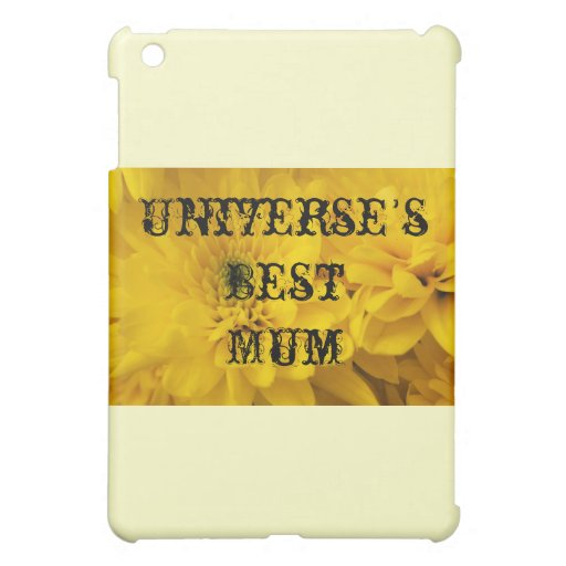 Universe's Best Mum iPad Mini Covers