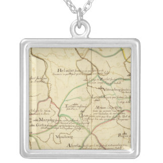 Universities in Austria and Czech Republic Silver Plated Necklace