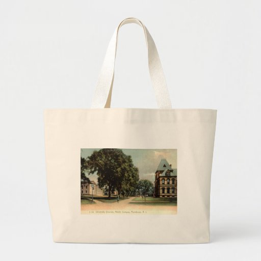 University of Rhode Island Providence 1906 Vintage Canvas Bags