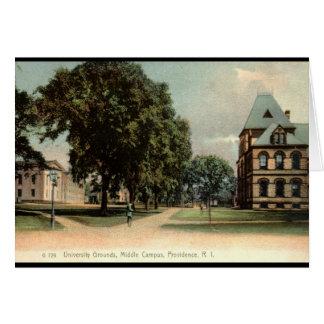 University of Rhode Island Providence 1906 Vintage Greeting Card