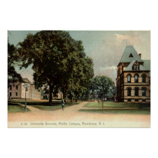 University of Rhode Island Providence 1906 Vintage Poster