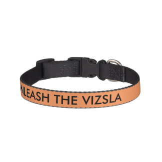 UNLEASH THE VIZSLA collar Pet Collar