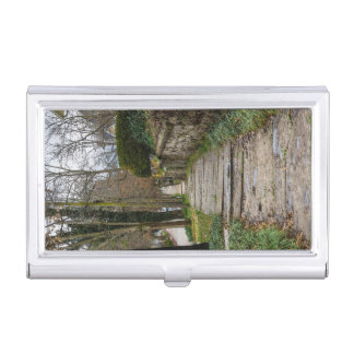 Unlevel Pathway Business Card Cases