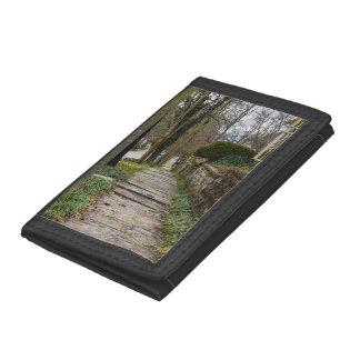 Unlevel Pathway Tri-fold Wallet