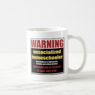unsocialized homeschoolers coffee mug