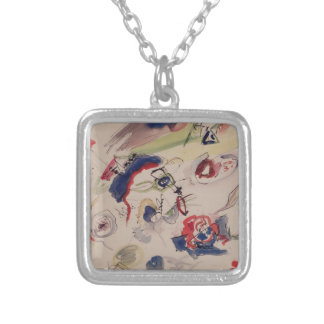 Untitled - First Abstraction, 1910 Silver Plated Necklace