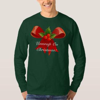Unwrap On Christmas Ugly Christmas Sweater