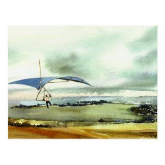 'Up and Away' Postcard