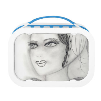 Up Close Flapper Lunch Box