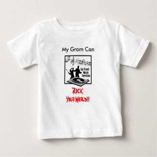 Up-Front-Music-Services-Log-300, My Gram Can , ... Baby T-Shirt