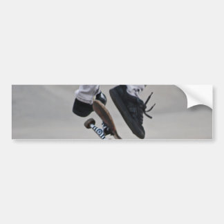 Up In The Air Skateboard Bumper Sticker