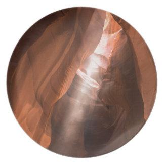 Upper Antelope Canyon light beam Plate