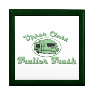 Upper Class Trailer Trash Trinket Boxes