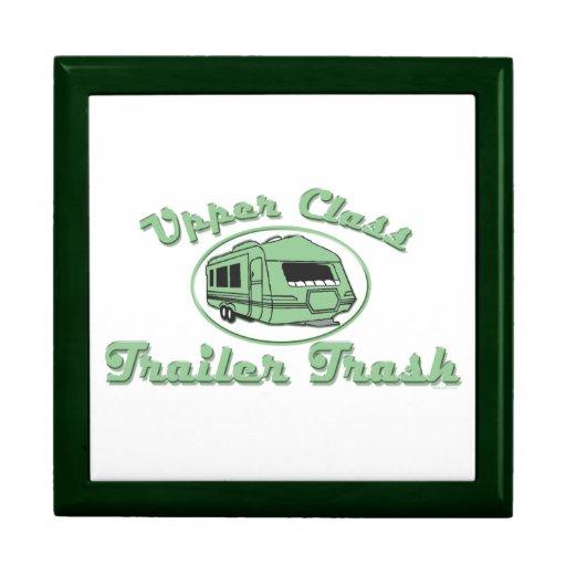 Upper Class Trailer Trash Trinket Boxes
