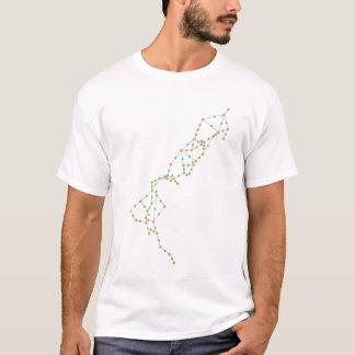 [Upside down] Distance to Destination in NZ T-Shirt
