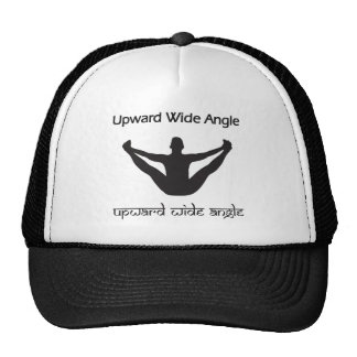 Upward Wide Angle Mesh Hat
