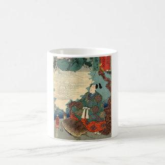 Urashima Taro and the Turtle Japanese Fairy Tale Basic White Mug