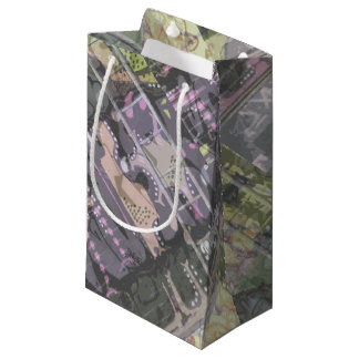 urban art graffiti gift wrapping small gift bag