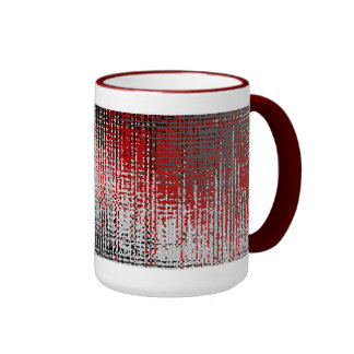 Urban Camo Ringer Mug