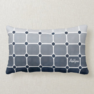 Urban Chic Throw Pillow - Prussian Blue