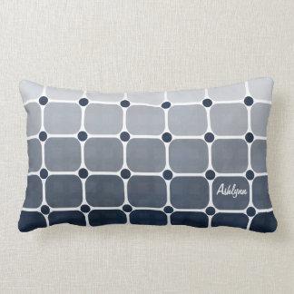 Urban Chic Throw Pillow - Prussian Blue Cushions