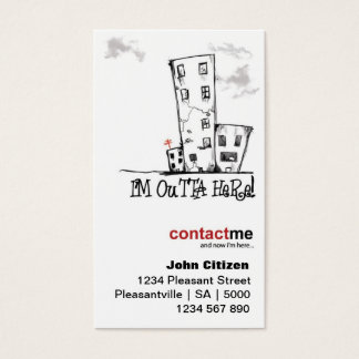 Urban Contemporary Change of Address Cards