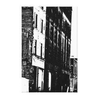 Urban Landscape in B/W II Canvas Print