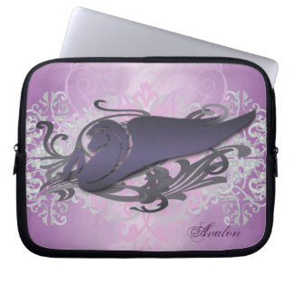 Urban Pink Fantasy Pegasus Laptop Sleeve